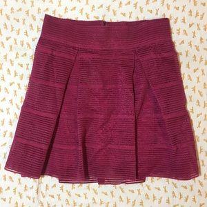 Torrid fuschia bubble skirt mini size 1 eeg